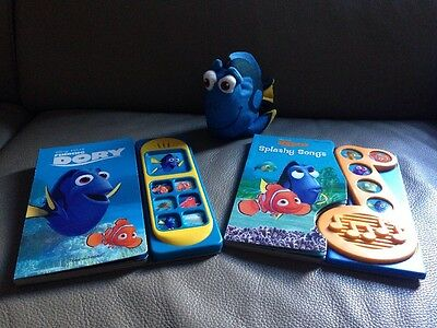 Disney Pixar Finding Dory Play A Sound & Song Book + Soft Toy