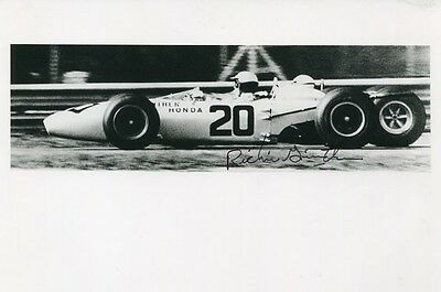Richie Ginther (+) American F1 autograph, signed photo