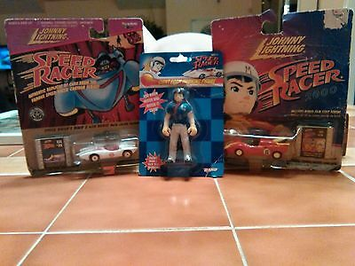 Speed Racer lot of 3 really cool items.