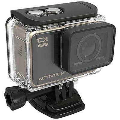 ACTIVEON Action Cam CX Gold Sensore CMOS 16Mpx Full HD Display LCD Touch 2 Wi-Fi
