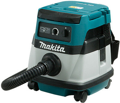 Makita DVC861LZ 18v Cordless Or Corded (240V) Vacuum/Dust Extractor (Body Only)