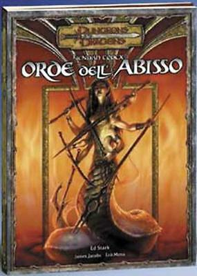 D&D 3.0 3.5 CODEX IMMONDO 1 Orde dell'Abisso dungeons & dragons