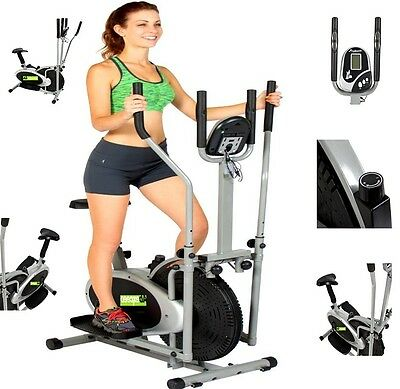 Elliptical 2In1 Cross Trainer Exercise Fitness Bike Machine Workout/gym/cardio