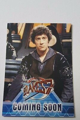 Blake's Seven Promotional Card limited to 500 from Unstoppable cards