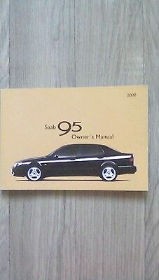 Saab 9-5 Owners manual. 2000
