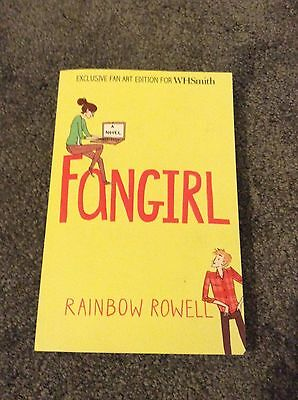 Fangirl Book By Rainbow Rowell In Excellent Condition