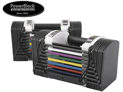 *brand New* Powerblock Sport - 5.0 - Adjustable Dumbbells - 2-22.5 Kg