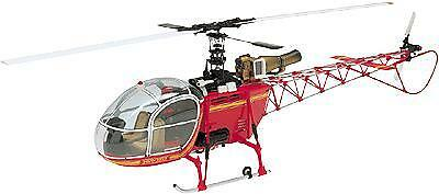 Hirobo Lama SA-315B Scale Helicopter (RED ONLY)