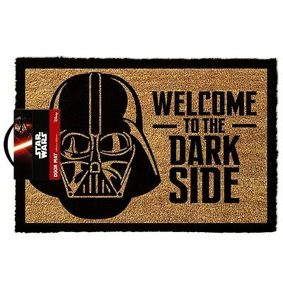 Star Wars Welcome To The Dark Side Mat Official Doormat 60 X 40 Cm Coir Pvc Back