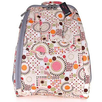 Zebella Pretty Diaper Backpack Baby Nappy Mummy Bag Travel... New, Free Shipping