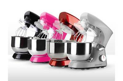 Royalty Line RL-PKM1400.5 Kitchen Robot Stand Mixer 1400W Stainless Bowl (pink)