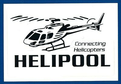 Connecting Helicopters Heli Pool Sticker
