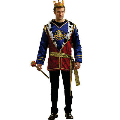 Adult Attractive Noble King Outfit By Dress Up America