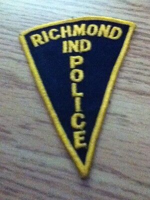 Richmond Police Patch Indiana