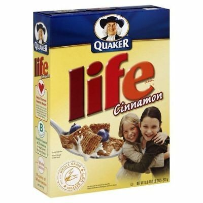 Quaker Life Cinnamon Cereal American Cereal 13oz 368g