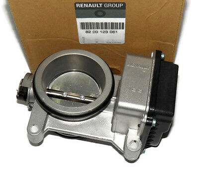 Throttle Body Renault Clio Ii Kangoo 1.4 16V / 1.6 16V (Genuine 8200123061)