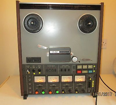 Vintage Large Teac A-3440 4 Channel Simul-Sync Reel To Reel Working
