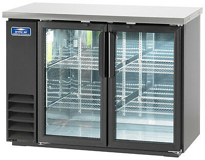 "Arctic Air 48"" 2 Glass Door Back Bar Cooler - Abb48G"