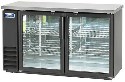 "Arctic Air 60"" 2 Glass Door Back Bar Cooler - Abb60G"