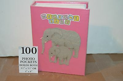 100 Picture Book Bound Photo Album (  Welcome Baby / Girl ).