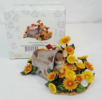Charming Tails DELIVERED BY YOUR LOVE October Birthstone Figurine #89/229 NIB
