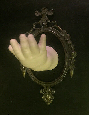 Strange & Unusual Wall Mounted Vintage Ceramic Doll Arm  - Gothic