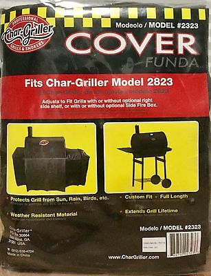 """Char-Griller Wrangler Polyester 35"""" Charcoal Grill Cover"""