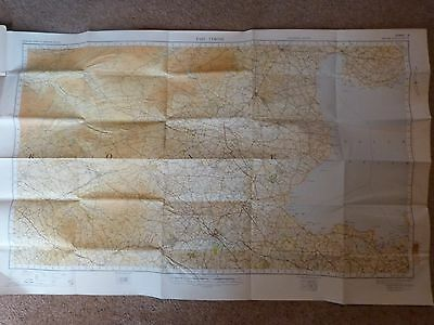 1949 O/S Map Of East Tyrone Sheet 6 Linen