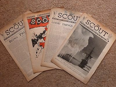 4 x 1940s The Scout Magazine