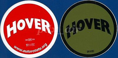 Two Hover Aviation Helicopter Stickers