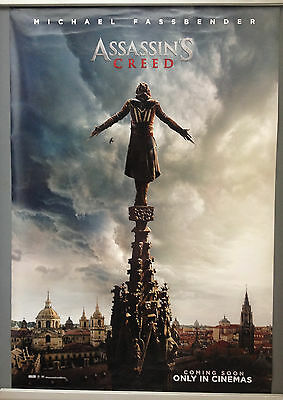 Cinema Poster: ASSASSIN'S CREED 2017 (On Spire One Sheet) Michael Fassbender