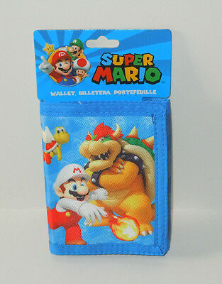 Super Mario Wallet Trifold New With Tags