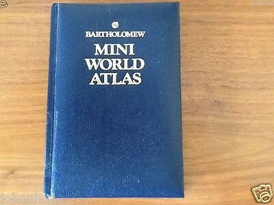 Bartholomew Mini World Atlas 1989