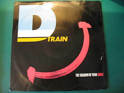 """D Train-The Shadow Of Your Smile. Original 1983 Disco/soul/funk 12"""" Single"""