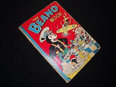 BEANO BOOK / ANNUAL 1956 VINTAGE 1950s COMPLETE D C THOMSON  not DANDY COMIC