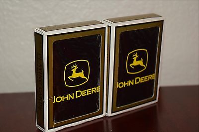John Deere Collectible Playing Cards 2 Decks New Unopened Farm Equipment