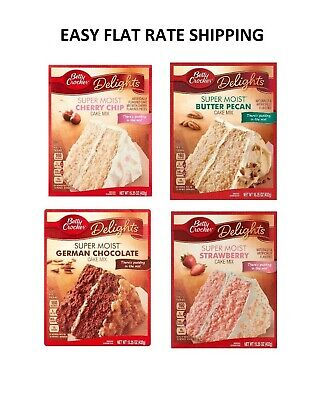 Betty Crocker Delights / Favorites Cake Mix 15.5 oz Pick one FREE WORLD SHIP !