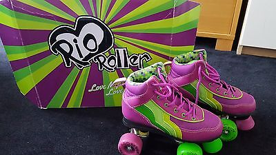 Girls Boot Roller Skates Size 2 EU34