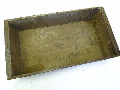 Antique Wood Roedings Extra Fancy Quality Black Figs Cali Fruit Advertising Box