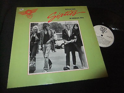 Rocking Sixties Lp Various Uk/the Who/small Faces/t-Rex/jeff Beck/the Move/cream