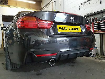 Bmw 4Series F32 F33 Stainless Steel Back End Dual Performance Exhaust System