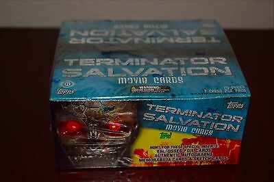 TOPPS Terminator Salvation Movie 2009 Hobby 24 Pack Trading Card Box Sealed NEW!