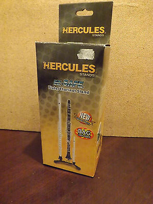 A Hercules Ez-Safe Flute/clarinet Stand ..new/boxed...+ A Bag....