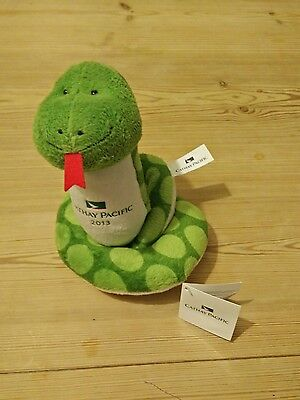 Cathay Pacific Snake Soft Toy