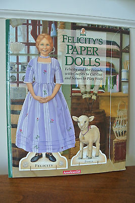 2003 Historical Character American Girl paper dolls, 7 sets, cut & used