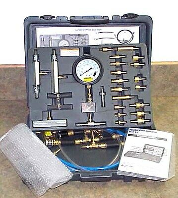 NEW Master Fuel Injection Test Kit, w/Manual & Blow-Mold Case
