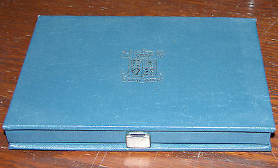ROYAL MINT 1986 PROOF COIN COLLECTION Beautiful Condition Presentatio Case
