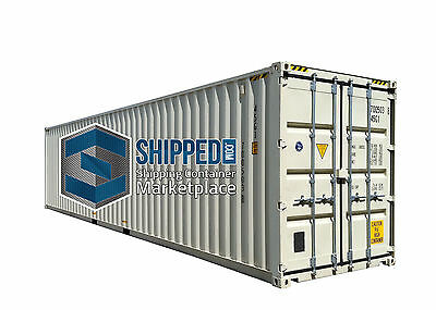SUPER SALE NEW 40FT HIGH CUBE ONE TRIP CONEX SHIPPING CONTAINER in MIAMI, FL