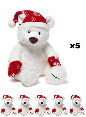5x Amazon Gund Polar Bear 2016 Limited Edition, BRAND NEW, COLLECTABLE, RARE