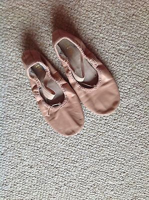 BLOCH Girls SZ 13 Pink Leather Ballet Dance Shoes